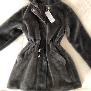 Petite Luxe Faux Fur Parka